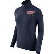 Nike Women's Minnesota Twins Dri-FIT Navy Element Half-Zip Jacket