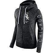 Nike Women's Chicago White Sox Vintage Black Full-Zip Hoodie