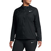 Nike Women's Plus Size Impossibly Light Running Jacket
