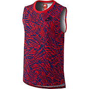 Nike Women's Muscle Printed Tank Top