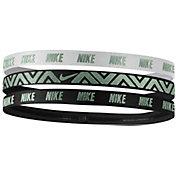 Nike Women's Metallic Hairbands – 3 Pack