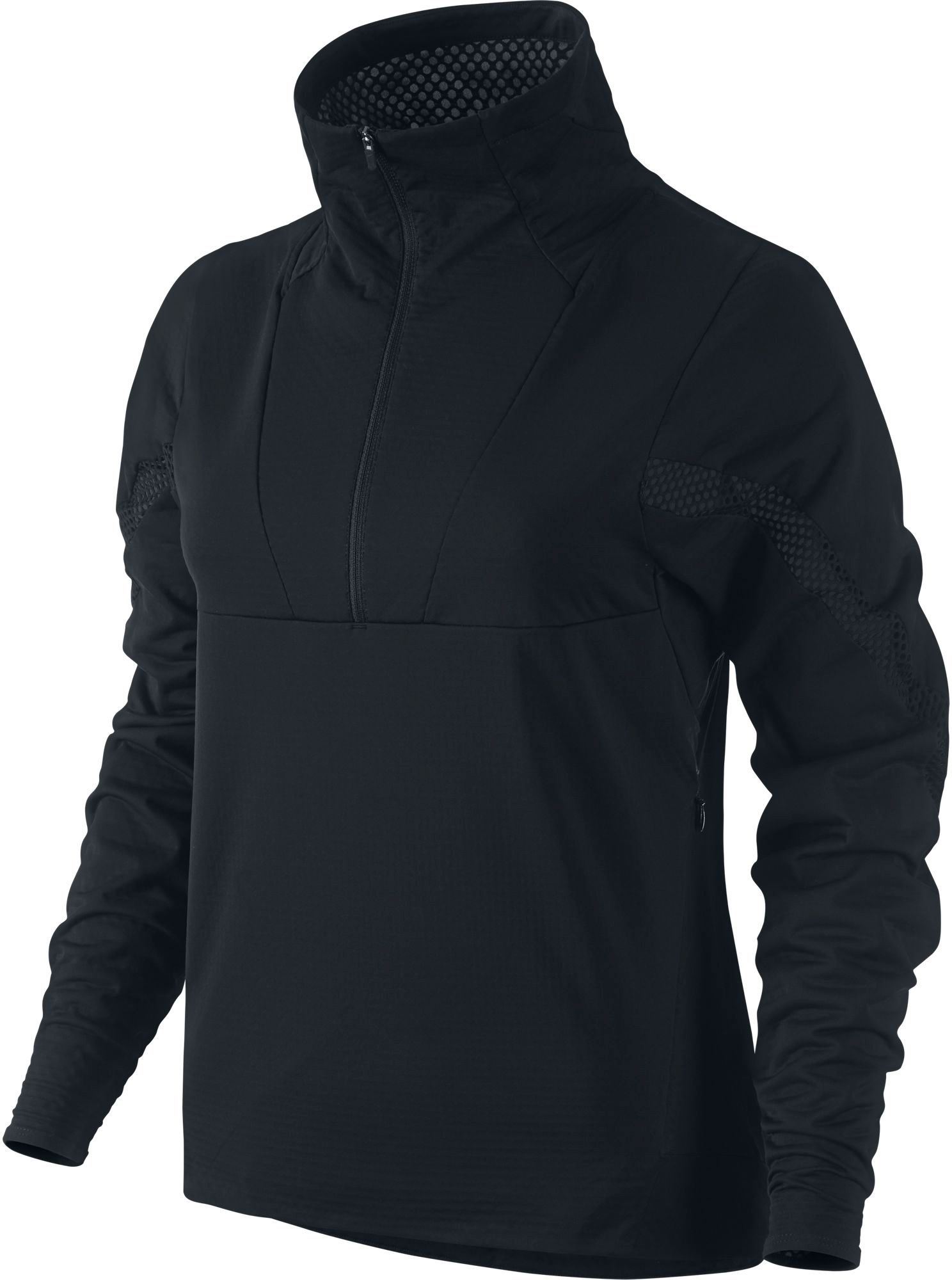 nike rain jacket womens black and white check