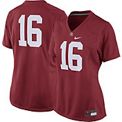 Nike Women's Alabama Crimson Tide #16 Crimson Game Football Jersey