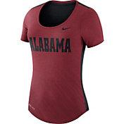 Nike Women's Alabama Crimson Tide Crimson Dri-Blend Scoop Neck T-Shirt