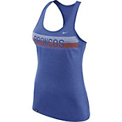 Nike Women's Boise State Broncos Heathered Blue Dri-FIT Touch Racerback Tank Top