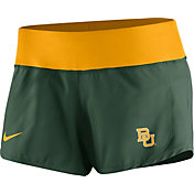 Nike Women's Baylor Bears Green Gear Up Crew Performance Shorts