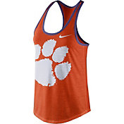 Nike Women's Clemson Tigers Orange Dri-Blend Tank Top