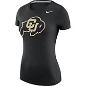 Nike Women's Colorado Buffaloes Black Logo T-Shirt