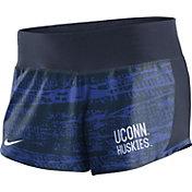 Nike Women's UConn Huskies Blue Crew Performance Shorts