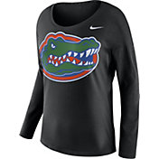 Nike Women's Florida Gators Tailgate Black Long Sleeve Shirt