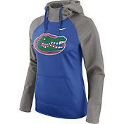 Nike Women's Florida Gators Grey/Blue Tailgate All Time Performance Hoodie