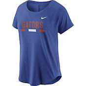 Nike Women's Florida Gators Blue Modern Fan 2.0 Performance T-Shirt