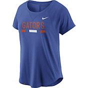 Nike Women's Florida Gators Blue Modern Fan 2.0 Performance T-Shirt