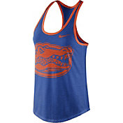 Nike Women's Florida Gators Blue Dri-Blend Tank Top