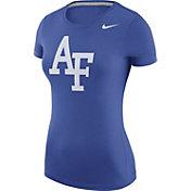 Nike Women's Air Force Falcons Blue Logo T-Shirt