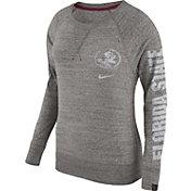 Nike Women's Florida State Seminoles Grey Vintage Crew Sweatshirt
