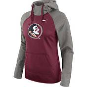 Nike Women's Florida State Seminoles Grey/Garnet Tailgate All Time Performance Hoodie