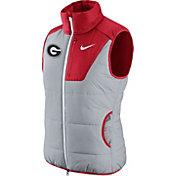 Nike Women's Georgia Bulldogs Grey/Red Champ Drive Vest