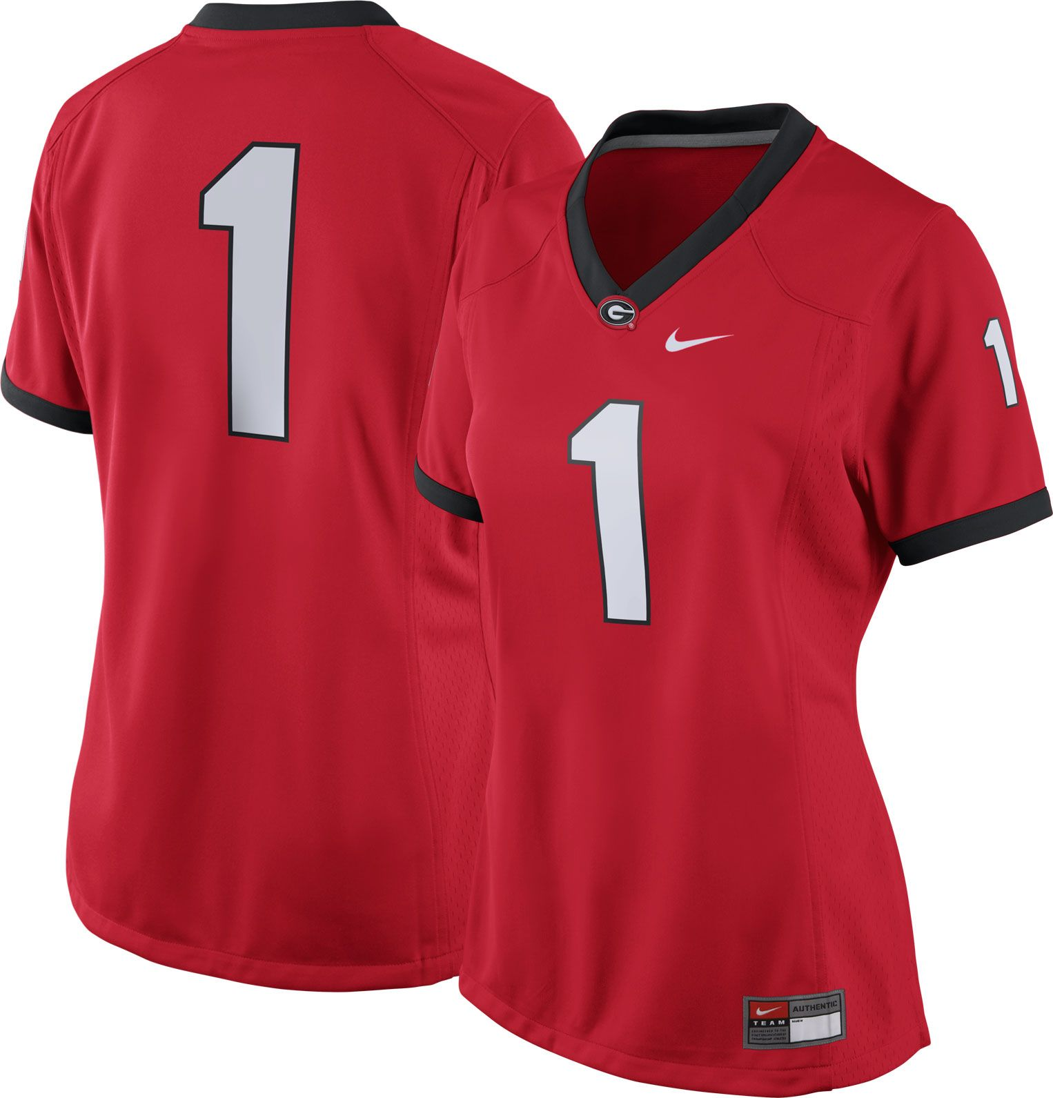 women's georgia bulldog jersey