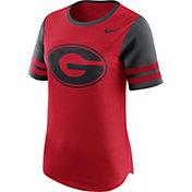 Nike Women's Georgia Bulldogs Red Gear Up Modern Fan T-Shirt