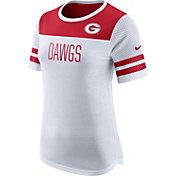 Nike Women's Georgia Bulldogs White/Red Modern Fan T-Shirt