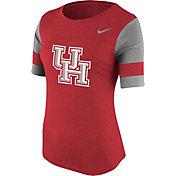 Nike Women's Houston Cougars Red Stadium Fan T-Shirt