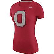 Nike Women's Ohio State Buckeyes Scarlet Logo T-Shirt
