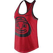 Nike Women's Ohio State Buckeyes Scarlet Dri-Blend Tank Top