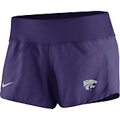 Nike Women's Kansas State Wildcats Purple Gear Up Crew Performance Shorts