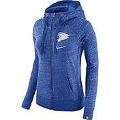 Nike Women's Kentucky Wildcats Blue Vintage Full-Zip Hoodie
