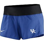 Nike Women's Kentucky Wildcats Blue Gear Up Crew Performance Shorts