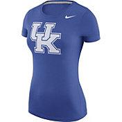 Nike Women's Kentucky Wildcats Blue Logo T-Shirt