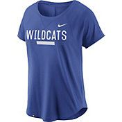 Nike Women's Kentucky Wildcats Blue Modern Fan 2.0 Performance T-Shirt