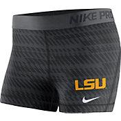 Nike Women's LSU Tigers Pro Black Shorts