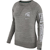 Nike Women's Michigan State Spartans Grey Vintage Crew Sweatshirt