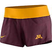 Nike Women's Minnesota Golden Gophers Maroon Gear Up Crew Performance Shorts