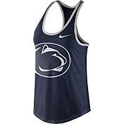 Nike Women's Penn State Nittany Lions Blue Dri-Blend Tank Top