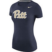 Nike Women's Pitt Panthers Blue Logo T-Shirt