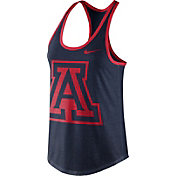 Nike Women's Arizona Wildcats Navy Dri-Blend Tank Top