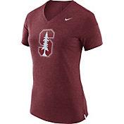 Nike Women's Stanford Cardinal Fan Cardinal V-Neck T-Shirt