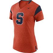 Nike Women's Syracuse Orange Fan Orange/Blue V-Neck T-Shirt