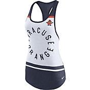 Nike Women's Syracuse Orange White/Blue Circle Dri-Blend Tank Top