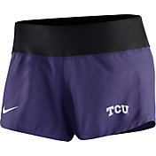 Nike Women's TCU Horned Frogs Purple Gear Up Crew Performance Shorts