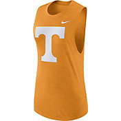 Nike Women's Tennessee Volunteers Tennessee Orange Logo Muscle Performance Tank Top
