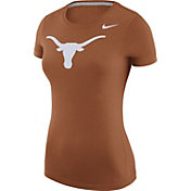 Nike Women's Texas Longhorns Burnt Orange Logo T-Shirt