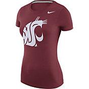 Nike Women's Washington State Cougars Crimson Logo T-Shirt