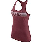 Nike Women's Washington State Cougars Heathered Crimson Dri-FIT Touch Racerback Tank Top