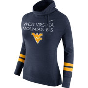 Nike Women's West Virginia Mountaineers Blue Championship Drive Obsessed Style Top