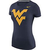 Nike Women's West Virginia Mountaineers Blue Logo T-Shirt
