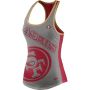 Nike Women's San Francisco 49ers Touchdown Grey Tank